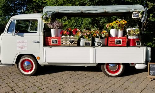 Posy Wagon At The Leslieville Flea Market