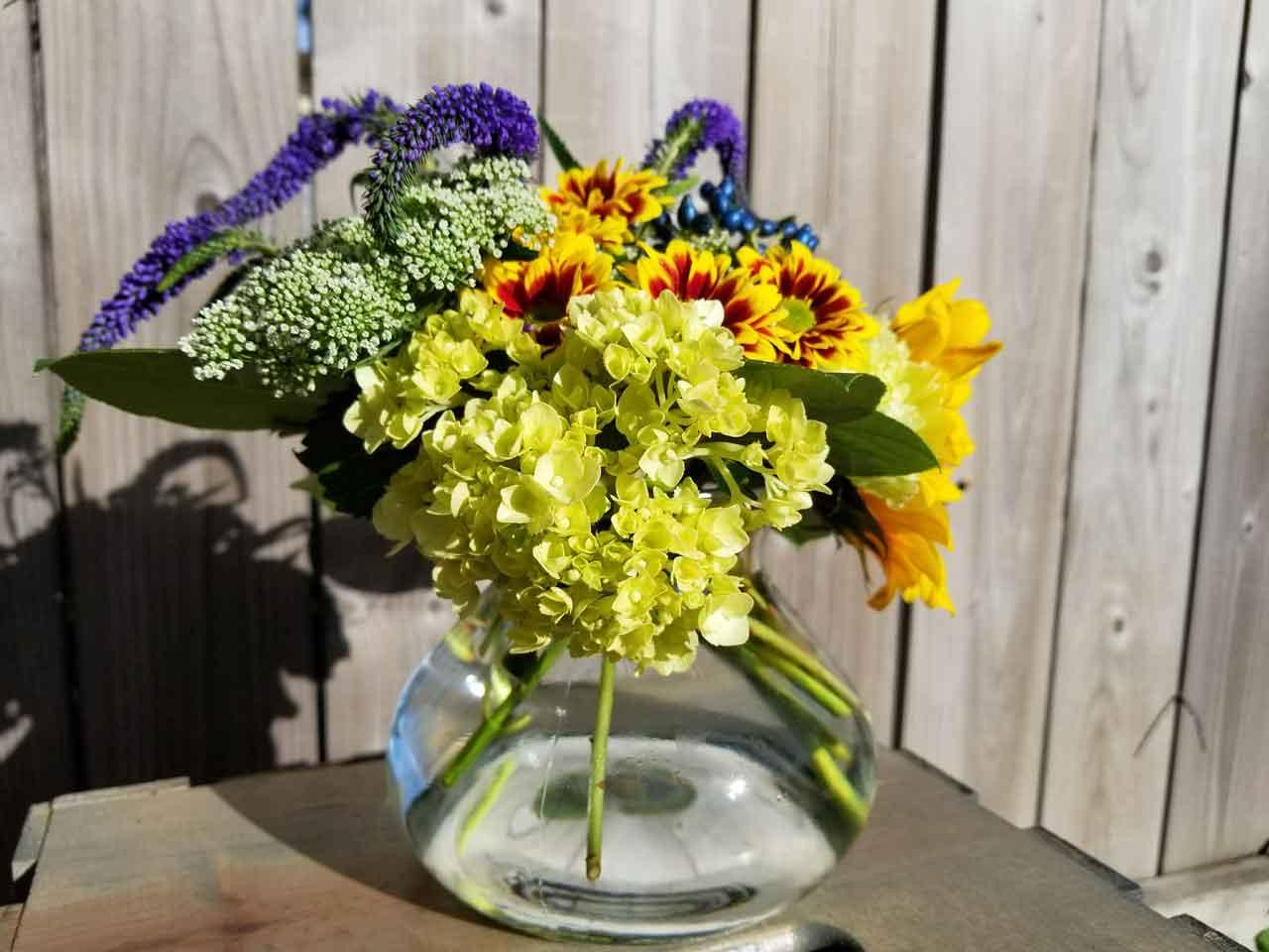 The Delicate Flower Colourful Personal Floral Arrangement