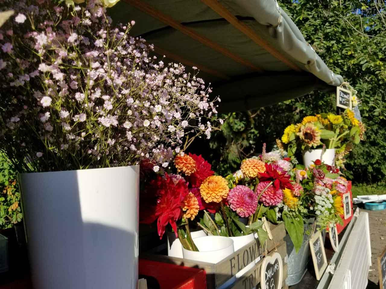 The Delicate Flower Truck Farmers Market Photo