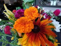 Bright Floral Arangements for event