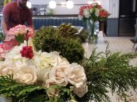 Corporate Floral Arrangements - In Restaurant