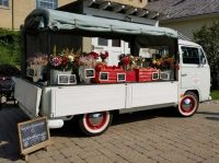 Flower Truck with Flowers For Sale